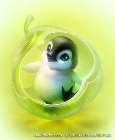 Penguin (Drawing by Shuichi.Mizoguchi.9 @Facebook)