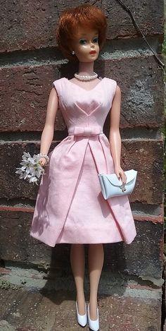 Titian Bubble Cut in Pink Belle dress