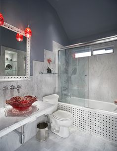 Small bath remodel - eclectic - bathroom - dallas - by USI Design & Remodeling