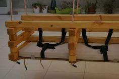 Double swing that converts into an indoor outdoor baby bassinet- best way to soothe baby and when baby can sit it can be converted into a double swing. Buy plans or ready made @ www.etz-ron.com