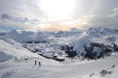 Centro de ski La Hoya. Esquel Chubut Patagonia.