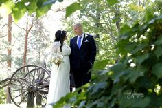 Rustic wedding prop at The Little Log Wedding Chapel in Niagara