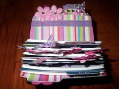 Altered Rolodex (Image Heavy) - PAPER CRAFTS, SCRAPBOOKING & ATCs (ARTIST TRADING CARDS)