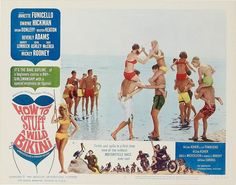 "Lobby Card for the AIP film ""How to Stuff a Wild Bikini"" (1965), starring Annette Funicello and Dwayne Hickman"