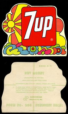 1960s Advertising, Old Advertisements, Kickin It Old School, Soda Brands, Hippie Designs, Vintage Packaging, Peace And Harmony, Vintage Photography, 1970s