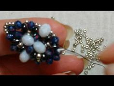 Beading Projects, Beading Tutorials, Beading Patterns, Seed Bead Earrings, Beaded Earrings, Diy Beaded Rings, Twin Beads, Bead Jewellery, Beads And Wire