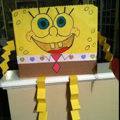 Valentine box Reminds me of my daughter Heidi. She loved sponge bob Valentine Cupid, Valentine Day Love, Valentine Crafts, Holiday Crafts, Holiday Fun, Fun Crafts, Valentine Ideas, Holidays With Kids, School Holidays