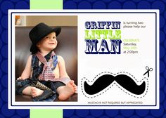 Little Man party with lots of details