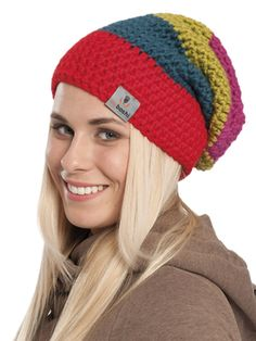 Nordic Yarns and Design since 1928 Crochet Beanie, Knitted Hats, Knit Crochet, Crochet Hats, Crochet Accessories, Loom Knitting, Easy Crochet, Crochet Clothes, Handicraft