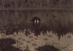 "Illustrasjon til ""Troldskab"", Kristiania 1892 @ DigitaltMuseum.no"