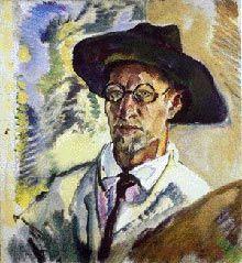 [ P ] Leo Putz - Self-portrait (1938)