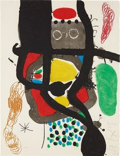 Artworks of Joan Miró (Spanish, 1893 - 1983) from galleries, museums and auction houses worldwide.