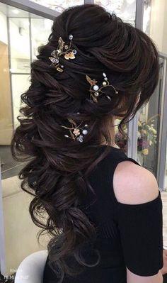 Long Wedding Hairstyles from Elstile / http://www.himisspuff.com/long-wedding-hairstyles-from-elstile/13/