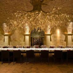 Wow!  Napa's most beautiful wine tasting room. (Hall Rutherford Winery)