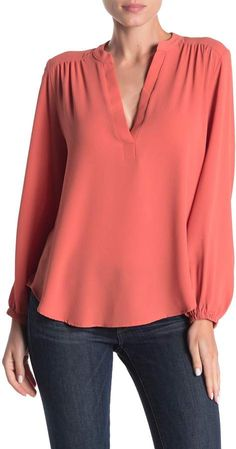 Blouse Styles, Blouse Designs, Casual Dresses, Fashion Dresses, Plus Size Outfits, Plus Size Fashion, Tunic Tops, Trending Outfits, Long Sleeve