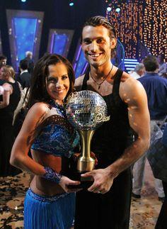Dancing With The Stars: Past Winners  Season 1 winners: Kelly Monaco and Alec Mazo