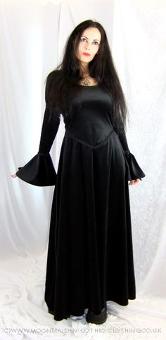 Moonmaiden Gothic Clothing - Moonshadow Gown