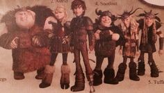 They're all grown up!!! Though, honestly, we all know that puberty was in Hiccup and  Astrid's favor to begin with. lol XD