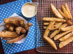 Receita de batatas rústicas com pimenta calabresa e alecrim | Cozinha Travessa