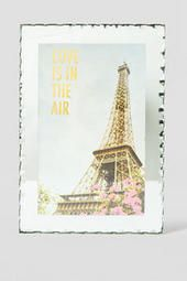 Love is in the Air Small Glass Decor