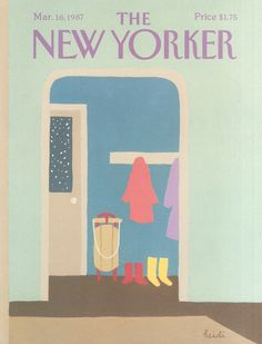 The New Yorker - Monday, March 16, 1987 - Issue # 3239 - Vol. 63 - N° 4 - Cover by : Heidi Gonnel
