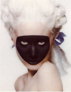 """""""Anastasia"""" 1994© Inez van Lamsweerde & Vinoodh Matadin. ...I must give credit as I love this so much! This is a cropped version."""