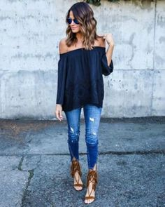Stylish And Cute Casual Outfits With Jeans Ideas, There's an outfit for everybody so have a look and discover your favourite. Sometimes all you've got to create a casual outfit great is an enjoyable t. Mode Outfits, Night Outfits, Casual Outfits, Casual Date Night Outfit Summer, Daye Night Outfit, Casual Summer, Casual Weekend, Daytime Date Outfit, Cold Spring Outfit