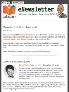 AALBC newsletter