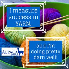 Let us help you be successful! Shop #yarn at www.AlpacaDirect.com