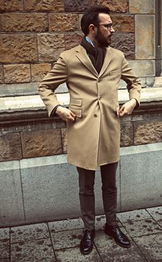 """completewealth: """"File under: Overcoat, Street style, Scarves Men's Fashion, Winter Fashion, Dandy, Cold Weather Fashion, Mens Fall, Sharp Dressed Man, Gentleman Style, Gentleman Fashion, Man Fashion"""