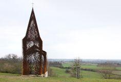 kostol v Belgicku (Gijs Van Vaerenbergh)