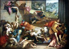 TINTORET le massacre des innocents XVIe grandes dimensions