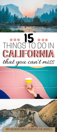 Heading to California? Check out the 15 unmissable things to do in California. It includes Yosemite Santa Monica Big Sur and a few destination in roder to discover California off the beaten path. This a California guide with tons of California travel tips Big Sur, San Diego, San Francisco, California Travel Guide, California Vacation, California California, California Destinations, California Quotes, California Burrito