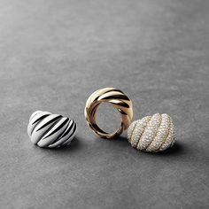 Hampton cable rings for instant style!