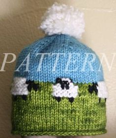 Baby Sheep Hat Pattern