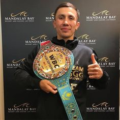 Congratulations Golovkin for the great fight, blessings with the belt ( ・・・ Thank you everyone for your support. See you tomorrow Triple G, Mandalay Bay Resort, Gennady Golovkin, Big Drama, Las Vegas Resorts, Boxing Champions, Champs, Martial, Blessings