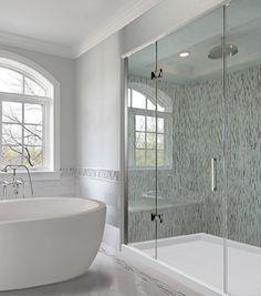 Frameless Glass Shower Enclosures And Tub Enclosures