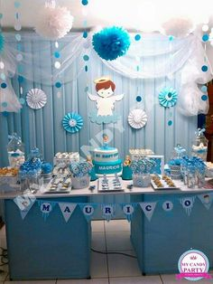 the little known secrets to baby shower ideas for girls themes 11 Baby Shower Balloons, Baby Shower Parties, Baby Boy Shower, Baptism Party Decorations, Baby Shower Decorations For Boys, Baptism Invitation For Boys, Baby Boy Christening, Boy Decor, Shower Ideas