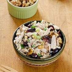 Chicken Salad with Grapes and Walnuts   cookeatpaleo.com