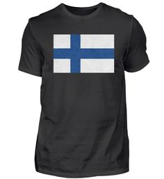 Finnland Flagge Design Motiv Geschenk T-Shirt Basic Shirts, Mens Tops, Design, Fashion, Gift, Moda, Fashion Styles, Fashion Illustrations