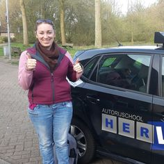 Sammi congratulations you past you're #practicalexam well done and enjoy #driving aroud with you're new #driverslicense www.autorijschool-herlaar.nl #assen #drivingschool