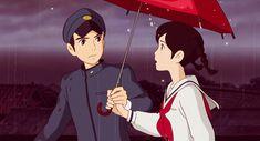Shun and Umi Studio Ghibli Art, Studio Ghibli Movies, Aesthetic Art, Aesthetic Anime, Anime Manga, Anime Art, Up On Poppy Hill, Japanese Animated Movies, Anime Love