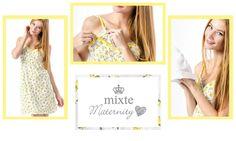 Camisola Maternity. Criada especialmente para o momento mais especial! #mixte #lindaemcasa #springsummer