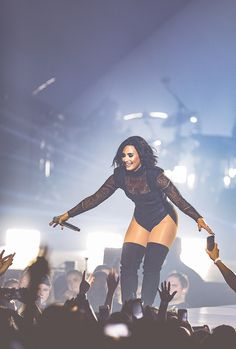 Demi Lovato performs during the 2016 Honda Civic Tour: Future Now at BB&T Pavilion on July 14, 2016 in Camden, New Jersey