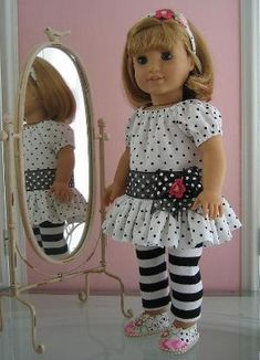 18 inch American Girl Doll Clothes by myra