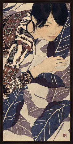 Kai Fine Art is an art website, shows painting and illustration works all over the world. Art And Illustration, Illustrations, Art Occidental, Art Asiatique, Art En Ligne, Art Japonais, Photo D Art, Japanese Painting, Art Graphique