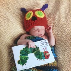 A personal favorite from my Etsy shop https://www.etsy.com/listing/248287116/the-very-hungry-caterpillar-crochet