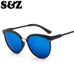 Women Cat s Eye Sunglasses Brand Designer Retro Fashion Ladies Outdoor  Vintage Cat Eye Glasses Femme Gafas 3879d5c925