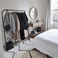 50 minimalist bedrooms with cheap furniture that you can reach 48 Room Decor Bedroom Bedrooms Cheap Furniture minimalist reach Bedroom Inspo, Home Bedroom, Small Apartment Bedrooms, Bedroom Inspiration Cozy, Bedroom Mirrors, Bedroom Table, Furniture Inspiration, Bedroom Sets, Master Bedroom