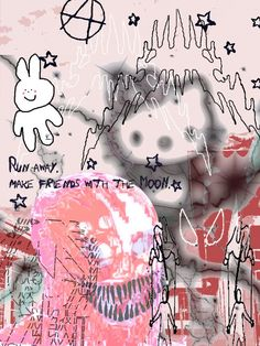 Aesthetic Grunge, Aesthetic Art, Aesthetic Anime, Goth Wallpaper, Hello Kitty Wallpaper, Animes Wallpapers, Cute Wallpapers, Emo Princess, Gothic Anime